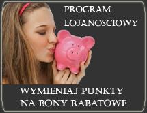Zdobyte punkty w programie lojalnościowym mogą być wymieniane na bony rabatowe, do wykorzystania na zakupy w naszym sklepie kosmetologicznym