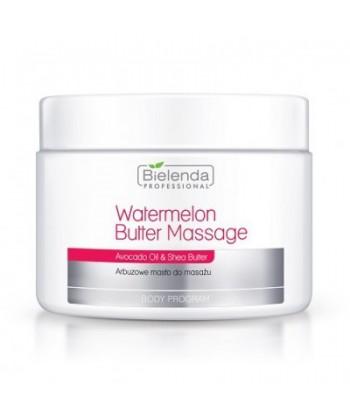 Bielenda Professional relaksujące arbuzowe masło do masażu ciała o właściwościach likwidujących cellulit