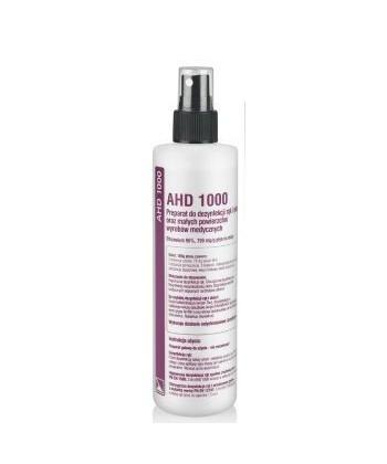 AHD 1000 płyn do dezynfekcji skóry, rąk i pola zabiegowego o silnych właściwościach wirusobójczych i bakteriobójczych