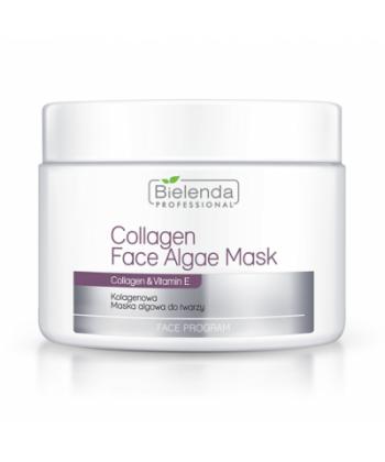 Bielenda Professional kolagenowa maseczka algowa do twarzy z witaminą E o działaniu liftingującym i nawilżającym