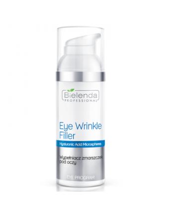 Bielenda Professional Eye Wrinkle Filler - wypełniacz zmarszczek z hialuronianem sodu pod oczy do cery dojrzałej