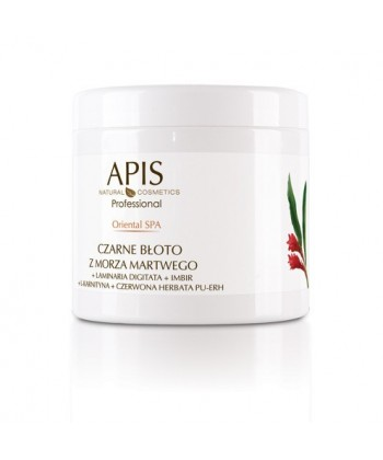 Apis Professional Oriental SPA Maska do ciała - Czarne błoto + algi Laminaria Digitata+imbir 500g