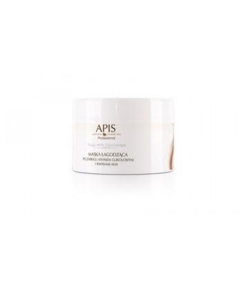 APIS maseczka łagodząca po zabiegu kwasami (glikolowym i AHA) do twarzy o działaniu zmniejszającym zaczerwienienia skóry