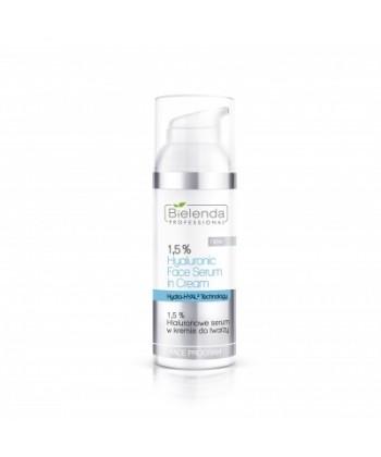 Bielenda Professional Hydra-HYAL Technology 1,5% hialuronowe serum w kremie do twarzy i oczu dla cery suchej z utratą jędrności