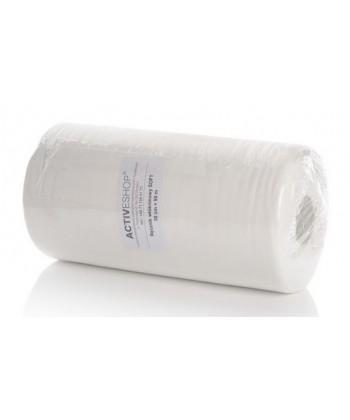 Włókninowe ręczniki jednorazowe w rolce idealnie nadają się do gabinetu kosmetologicznego, fryzjerskiego lub medycznego
