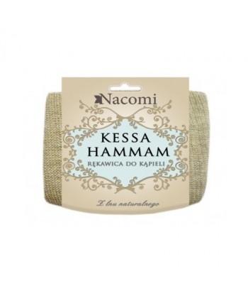 Nacomi Kessa Hammam to rękawica do kąpieli o skutecznym działaniu wygładzającym skórę na ciele i pobudzającym krążenie krwi