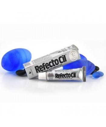 Profesjonalna henna kosmetyczna w żelu do farbowania brwi i rzęs o kolorze grafitowym marki RefectoCil