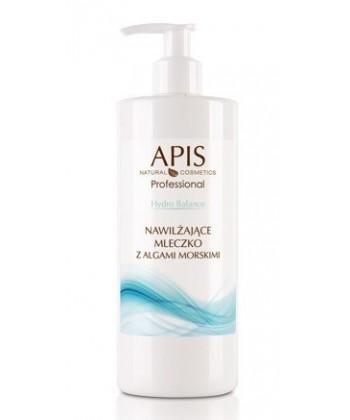 APIS Hydro Balance profesjonalne nawilżające mleczko z algami morskimi do usuwania makijażu i innych zanieczyszczeń z twarzy