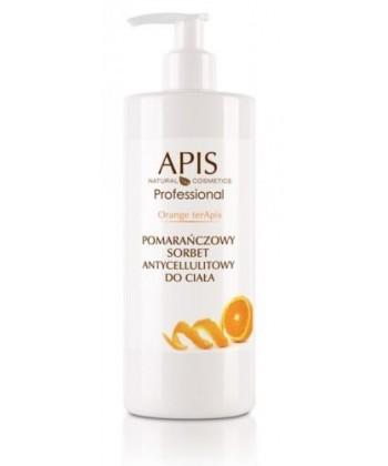 APIS Orange terApis naturalny sorbet antycellulitowy do ciała dla skóry objętej cellulitem (z problemem pomarańczowej skórki)