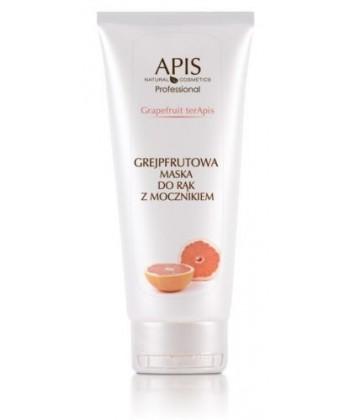 APIS naturalna maseczka wygładzająca do suchych i szorstkich rąk z mocznikiem i ekstraktem z grejpfruta