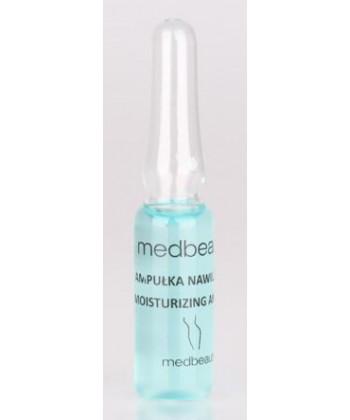 Medbeauty ampułki nawilżające do zabiegów kosmetycznych na twarz (mezoterapii mikroigłowej, bezigłowej i ultradźwięków)