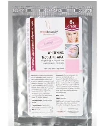Medbeauty rozjaśniająca maseczka algowa z ekstraktem z grzybów Mun do przywrócenia naturalnego koloru i zdrowego wyglądu skóry