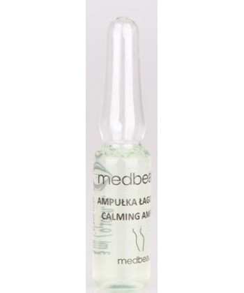 Ampułki łagodzące z D-panthenolem marki Medbeauty do mezoterapii mikroigłowej i bezigłowej dla cery wrażliwej i suchej