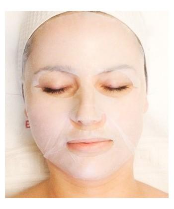 Maseczka w postaci płatu biocelulozowego o naturalnym działaniu oczyszczającym na twarz w rozmiarze XL