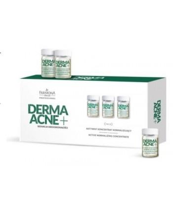Farmona Professional Derma Acne to matująco normalizujące ampułki do sonoforezy dla cery tłustej i mieszanej