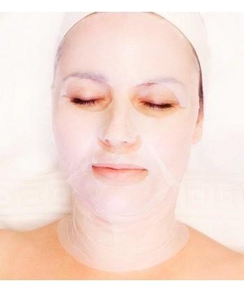 Medbeauty naturalnie odmładzająca maska w płacie biocelulozowym z kwasem hialuronowym do twarzy i szyi