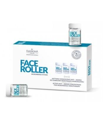 Farmona Face Roller to ampułki przeciwzmarszczkowe zapewniające efekt anti aging do zabiegów mezoterapii na twarz