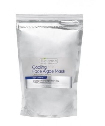 Bielenda Professional opakowanie uzupełniające chłodzącej maseczki algowej do twarzy z rutyną i witaminą C