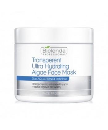 Bielenda Professional opakowanie uzupełniające transparentnej ultranawilżającej maseczki algowej do twarzy o suchej skórze
