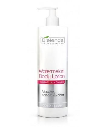 Bielenda Professional arbuzowy balsam do ciała efektywnie wspomagający procesy redukujące cellulit