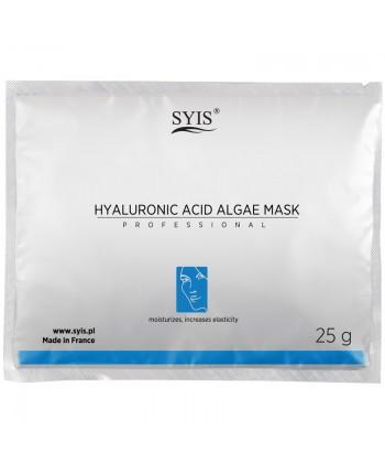 SYIS Hyaluronic Acid profesjonalna maseczka algowa do twarzy z kwasem hialuronowym, przywracająca sprężystość i zdrowy blask