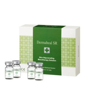Swiss Dermaheal SR to profesjonalne ampułki o działaniu przeciwzmarszczkowym do mezoterapii igłowej na skórę trądzikową