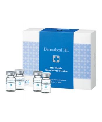 Swiss Medical Dermaheal HL regenerujące ampułki na wypadanie włosów do zabiegów mezoterapii derma rollerem o pozytywnej opinii