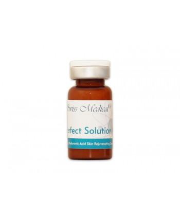 Swiss Medical Perfect Solution HSR to odmładzająca ampułka na zmarszczki do zabiegu mezoterapii mikroigłowej i igłowej na twarz