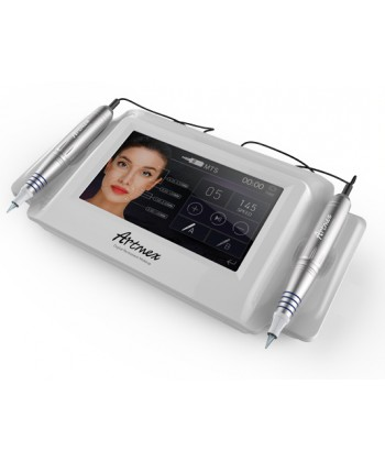 Artmex V8 to maszyna do makijażu permanentnego i innych procedur kosmetycznych mikronakłuwających skórę