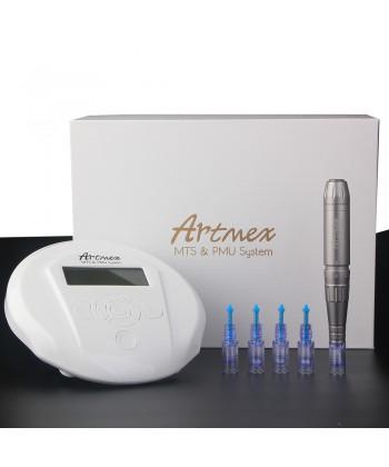 Artmex V6 to profesjonalne urządzenie do zabiegów makijażu permanentnego i frakcyjnego mikronakłuwania skóry o pozytywnej opinii
