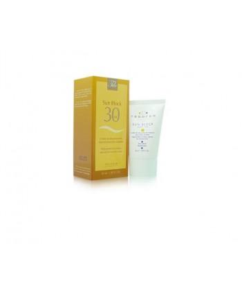 Tegoder Sun Block krem o wysokiej ochronie SPF 30 po zabiegach złuszczających oraz do skóry podatnej na poparzenia słoneczne