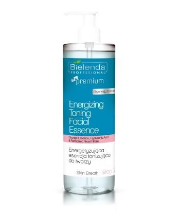 Bielenda Professional energetyzujący tonik do twarzy z kwasem hialuronowym o działaniu przywracającym fizjologiczne pH skóry