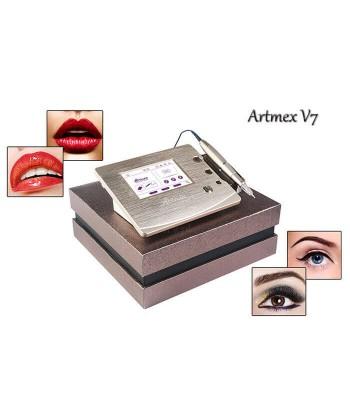 Artmex V7 to urządzenie do wykonywania trwałego makijażu (rzęs, brwi i ust) na twarzy