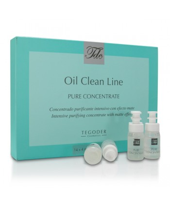 Tegoder Pure Concentrate to bezolejowe oczyszczające ampułki do cery trądzikowej o działaniu odblokowującym pory skórne