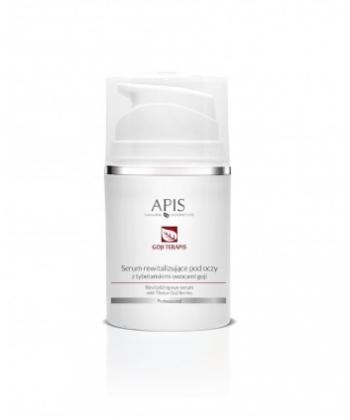APIS Goji terApis - serum rewitalizujące z tybetańskimi owocami goji dla cery dojrzałej i zmęczonej skóry wokół oczu