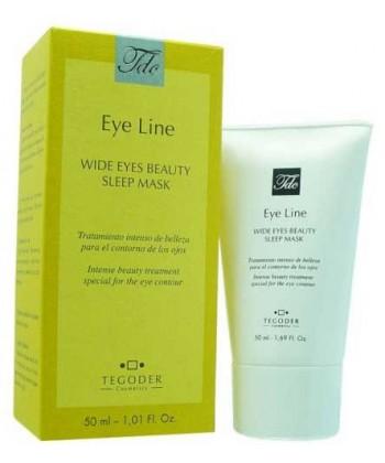 Tegoder maseczka do ujędrnienia skóry wokół oczu o dodatkowym działaniu przeciwobrzękowym i usuwającym oznaki zmęczenia