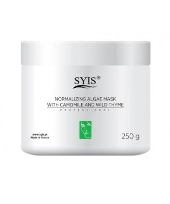 SYS Maska algowa Normalizująca z rumiankiem i macierzanką 250 g