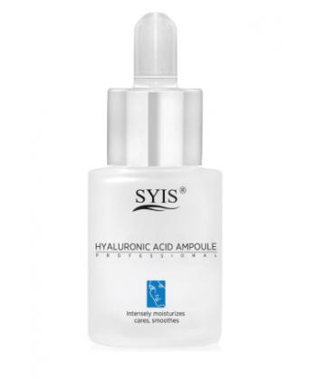 Ampułka z kwasem hialuronowym marki SYIS do mezoterapii o właściwościach liftingujących i przeciwzmarszczkowych