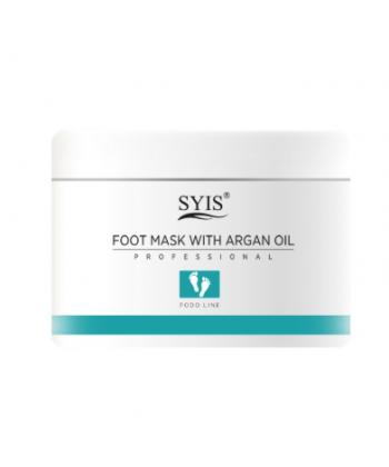 SYIS naturalna maseczka na stopy z olejkiem argonowym o działaniu nawilżającym i zmiękczającym skórę