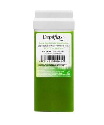 Depilflax Roll-On System wosk do depilacji w rolce z wyciągiem z oliwek o właściwościach łagodzących