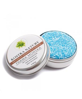 Szampon na bazie trawy morskiej doskonale oczyszcza skórę głowy i włosy