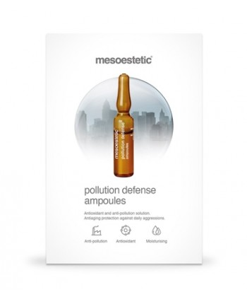 Mesoestetic pollution defense ampoules - antyoksydacyjna ampułka chroniąca przed zanieczyszczeniami i szkodliwymi czynnikami