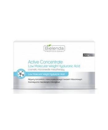 Bielenda Professional- Aktywny koncentrat z niskocząsteczkowym kwasem hialuronowym 3ml