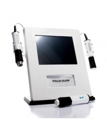 Pollo Glow 3w1 to urządzenie do zabiegu intensywnego dotleniania, odżywienia i złuszczania