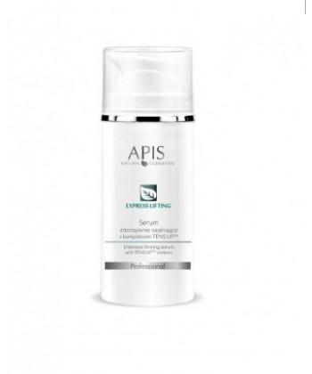 APIS Express Lifting serum intensywnie napinające z kompleksem TENS UP o efekcie liftingującym dla cery dojrzałej