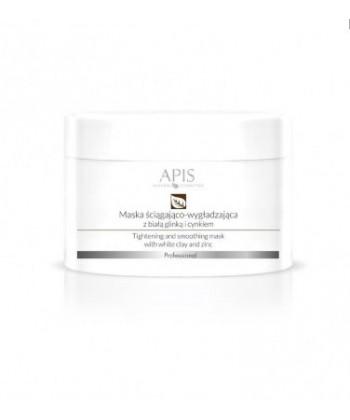 APIS profesjonalna maseczka ściągająco wygładzająca z białą glinką i cynkiem do cery tłustej z rozszerzonymi porami skóry