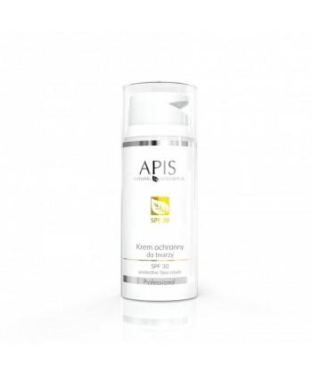APIS krem ochronny do twarzy z filtrem SPF 30 chroniący przed promieniami UVA i UVB, z pozytywnymi opiniami od klientów