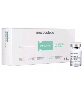 Mesoestetic mesohyal Organic Silicon - modelująco napinający koktajl z krzemionką organiczną do mezoterapii twarzy i ciała