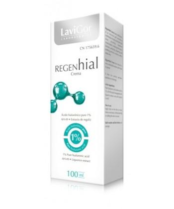 Regenhial Crema to krem głęboko regenerujący i nawilżający z acetyl hexapeptide do redukcji uczucia szczypania i parzenia skóry