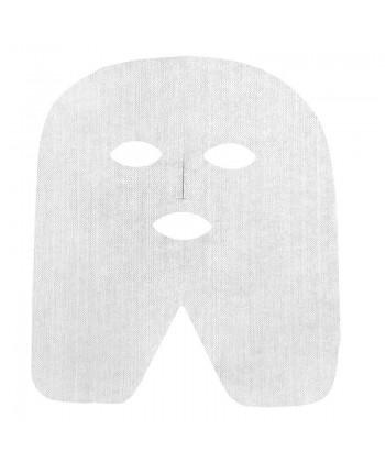 Zabiegowa maseczka z włókniny (gazy) do użytku jednorazowego na twarz i szyję